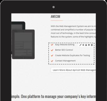 AWECIM'S Website Editing Platform