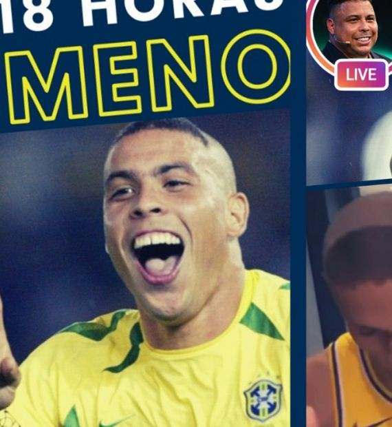 Face to face with 'Ronaldo Fenômeno' and a revelation