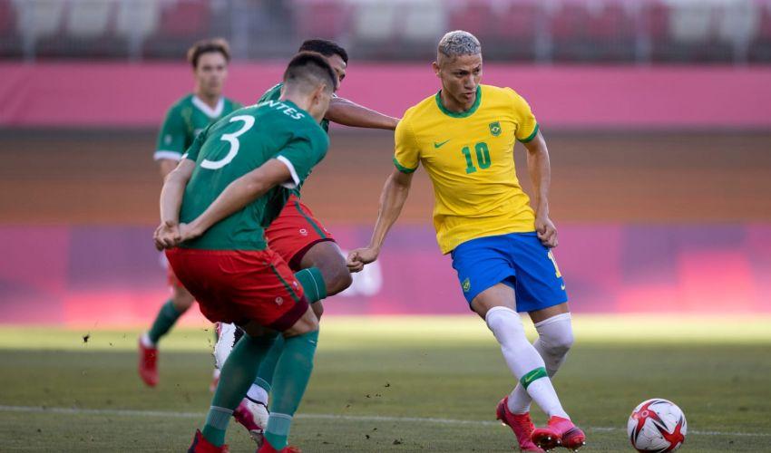 O Brasil está na final do futebol nas Olimpíadas