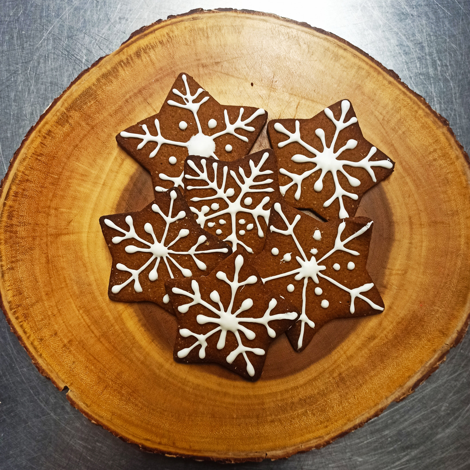 Gingerbread stars - gf