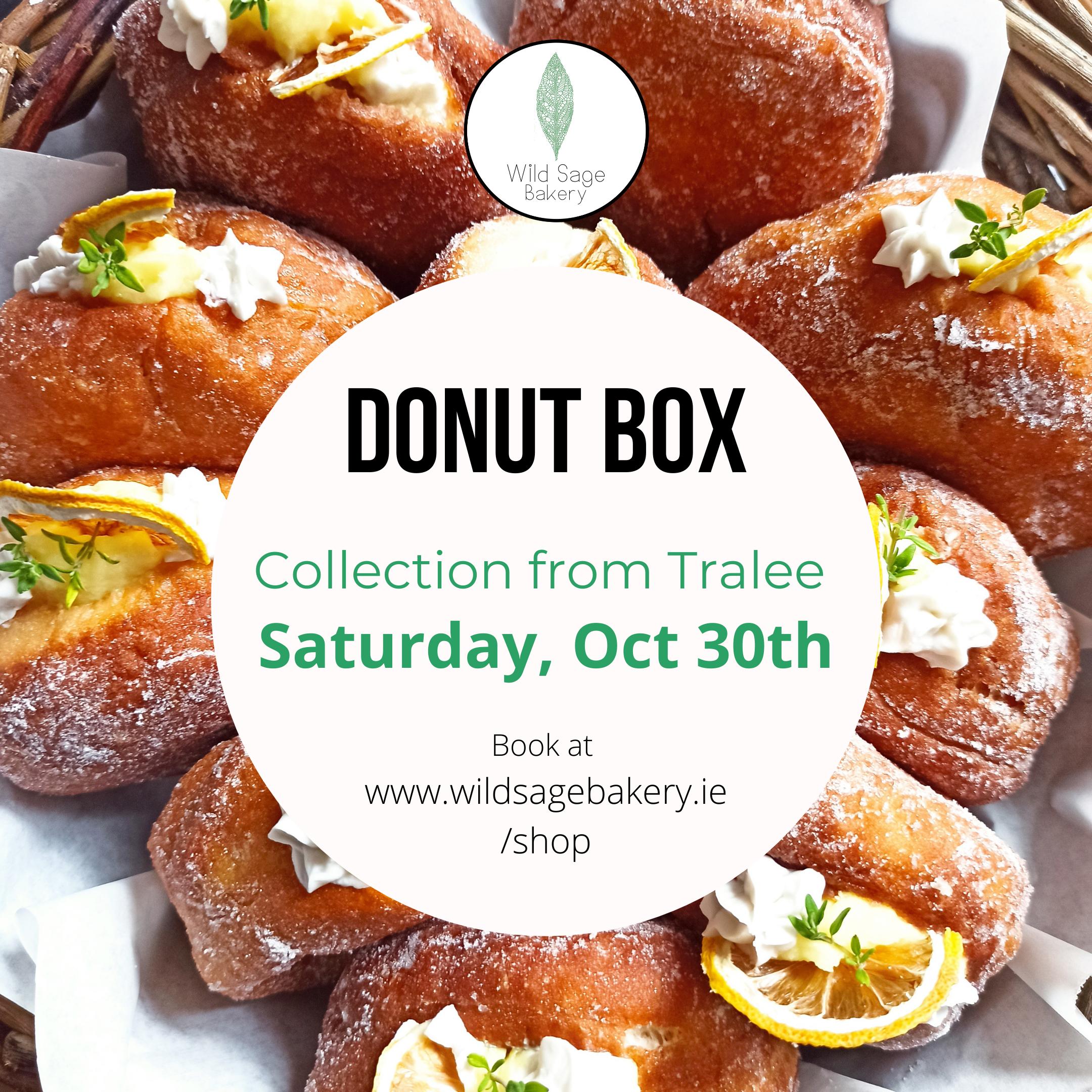 October Donut Box