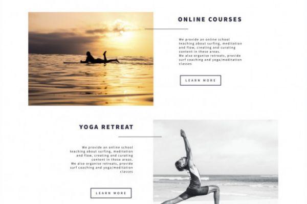 Fluxo Surf Website