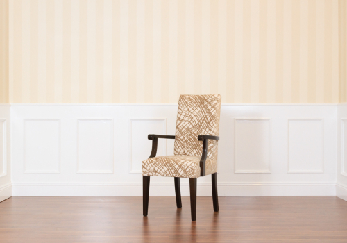 Tall Back Carver Dining Room Chair