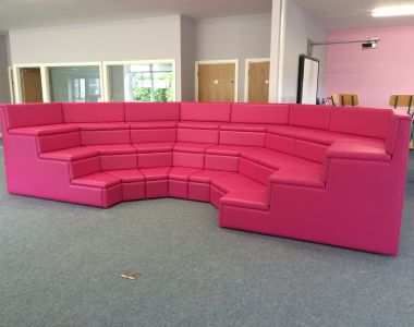 3-Tiered Leather Seating For A National School In West Cork