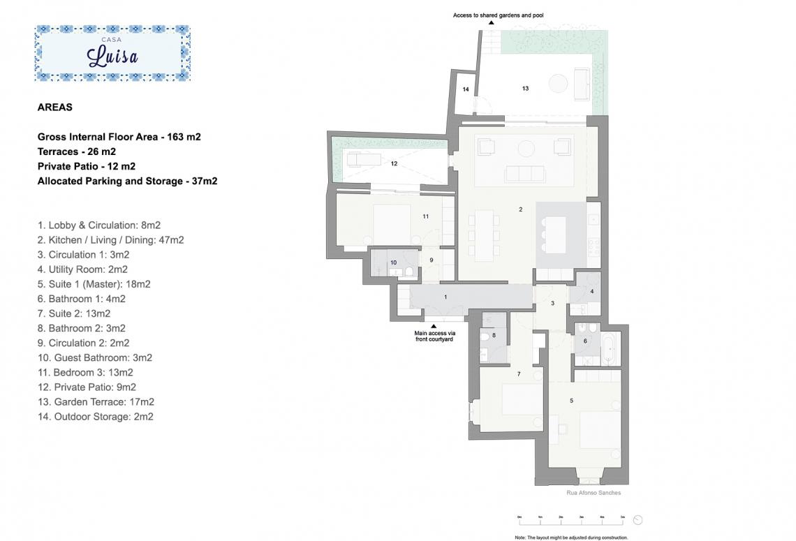 Casa Luisa Plan