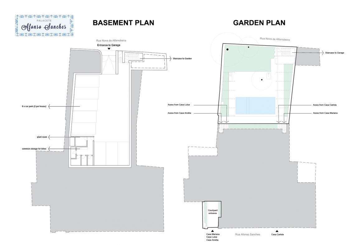 Basement and Garden