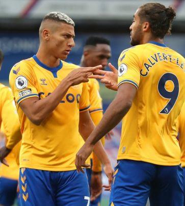 Crystal Palace 1 x 2 Everton