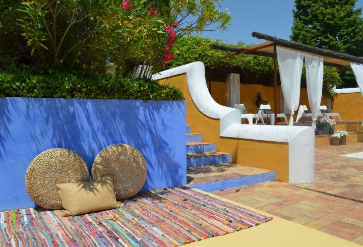 Zonas de estar da piscina da Quinta do Barrieiro 2