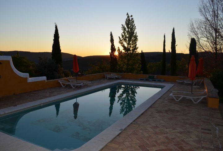 Vista de Nascer do Sol da piscina da Quinta do Barrieiro 3