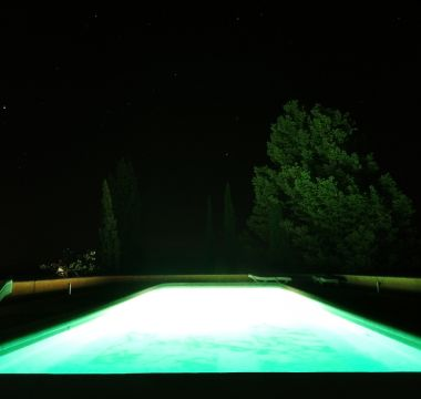 Piscina à noite 1