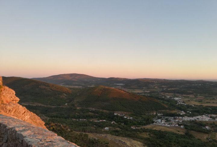 Vista do Castelo de Marvão