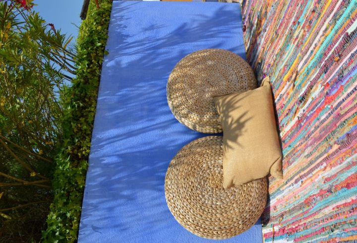 Zonas de estar da piscina da Quinta do Barrieiro